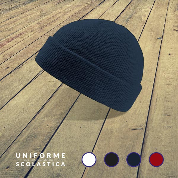Cappello bambino - Quando le giornate iniziano ad essere fredde è il momento di coprirsi. Il nostro cappello bimbo taglia unica ha un doppio strato e un bel risvolto.<br>
