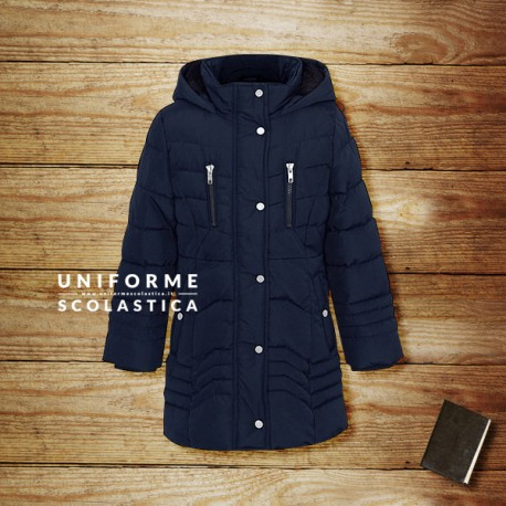 Giacca impermeabile femmina - La nostra giacca con cappuccio è pensata per resistere ai climi più rigidi grazie alla sua imbottitura di pelliccia.