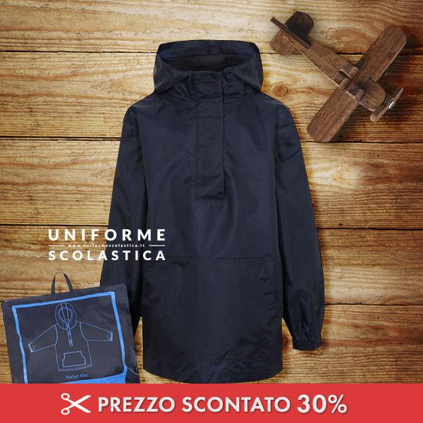 Giacca impermeabile unisex - Grazie a questa giacca impermeabile unisex i nostri ragazzi saranno mantenuti sempre asciutti anche con il clima più umido.