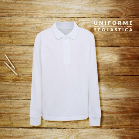 Polo manica lunga unisex - Polo manica lunga unisex comoda e pratica. Un capo sportivo ma elegante, facile da indossare, che lascia liberi di muoversi.
