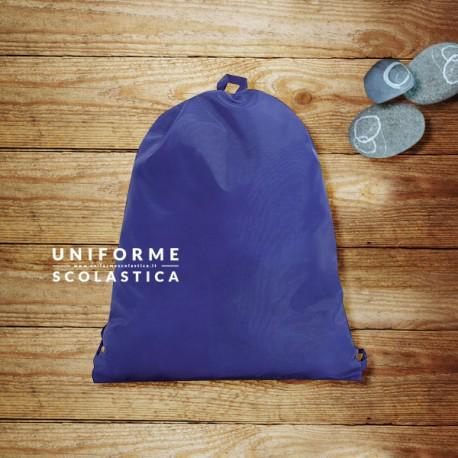 Sacca cambio vestiti - Una sacca comoda e facile da lavare. Versatile e semplice, può contenere un cambio di vestiti. Dimensioni 31 cm x 39 cm