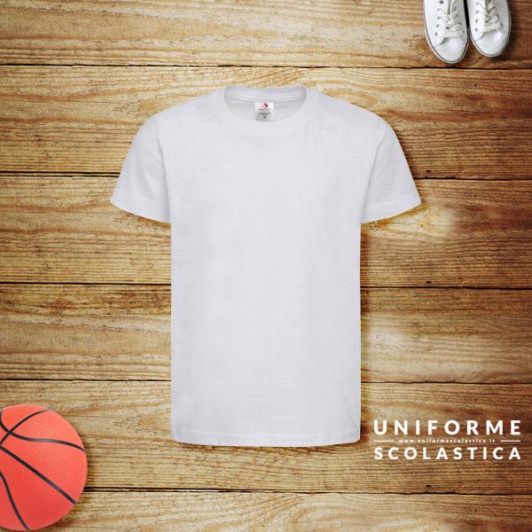 T-shirt ragazzo - La nostra T-shirt ragazzo scuola Classic-T è realizzata con cotone biologico, certificato secondo l'Organic Content Standard 100.