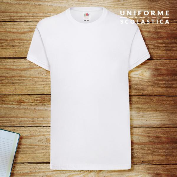 T-shirt bambini - T-shirt bambini Kids Original T Fruit of the Loom. Realizzata in cotone filato Belcoro, più morbido rispetto ai filati di cotone prodotti tradizionalmente.