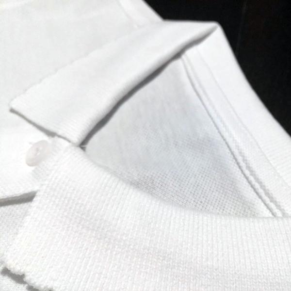 dettaglio collo polo forma polo scuola femmina
